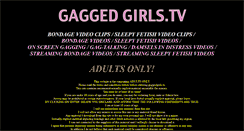 Preview of gaggedgirls.tv